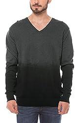 Shuffle Men's Cotton Sweater (8907423023062_2021521401_Large_Grey)