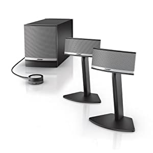 bose companion 5 multimedia speaker system graphite. Black Bedroom Furniture Sets. Home Design Ideas