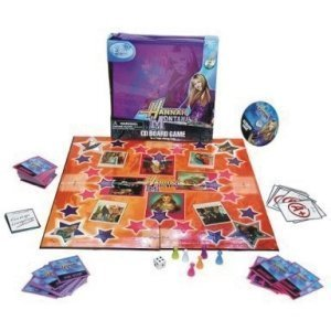 Disney's Hannah Montana CD Board Game in a Take-Along Case with Music CD (1 Each)