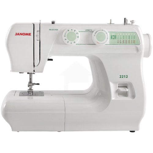 Review: Janome 2212 Sewing Machine - She Likes to Sew : sewing machines for quilting reviews - Adamdwight.com