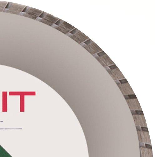 United Abrasives/SAIT 48504 7 by .090 by 5/8 Turbo CE Premium Diamond Cutting Wheel, 1-Pack