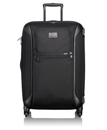 Tumi Luggage Alpha Lightweight Trip Packing Case, Black, Medium