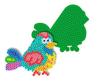 Bird Pegboard for Perler Fuse Beads