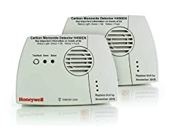 Self contained Honeywell H450EN Carbon Monoxide detector X 2 from Honeywell