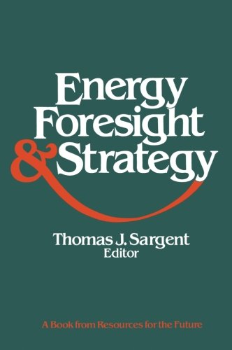 Energy, Foresight, and Strategy (Rff Press) PDF