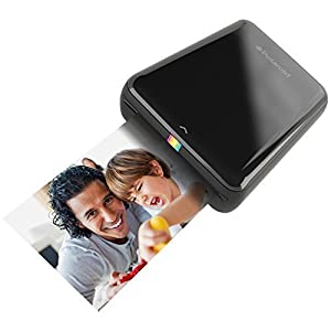 Polaroid ZIP Mobile Printer w/ZINK Zero Ink Printing Technology - Compatible w/iOS & Android Devices - Black
