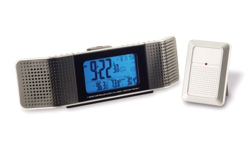 Clock Radios Maverick R 495 Color Coded Lcd Weather