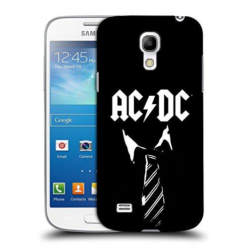 Ufficiale AC/DC ACDC Cravatta Iconico Cover Retro Rigida per Samsung Galaxy S4 mini I9190