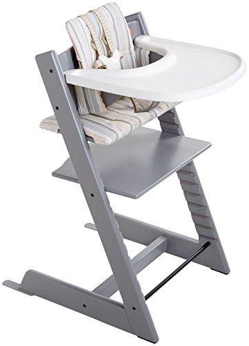 stokke tripp trapp bundle set storm grey baby shop. Black Bedroom Furniture Sets. Home Design Ideas