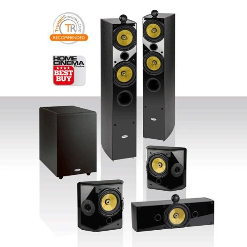 Crystal Acoustics T2-5.1 Home Theater With THX®