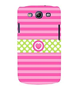 Heart Love Girly 3D Hard Polycarbonate Designer Back Case Cover for Samsung Galaxy S3 Neo :: Samsung Galaxy S3 Neo i9300i