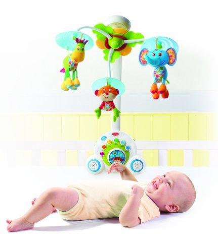 Tiny Love Soothe N Groove Mobile Music Toy Prince Blue front-754060