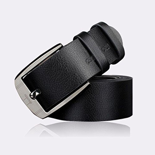 Metal Buckle Leather Waistband Vintage Classic Pin Buckle
