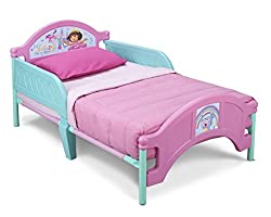 Dora the Explorer Toddler Bed - colors as shown, one size