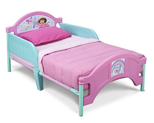 Delta Children Plastic Toddler Bed, Nick Jr. Dora The Explorer - 1