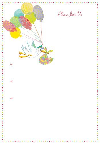 Fill In Baby Shower Invitations front-1047391