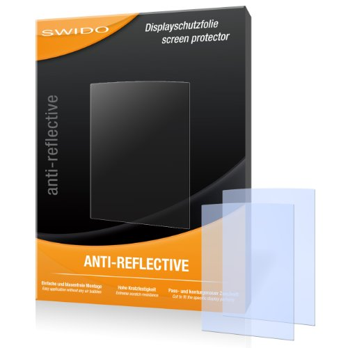 2 x SWIDO Anti-Reflective Displayschutzfolie