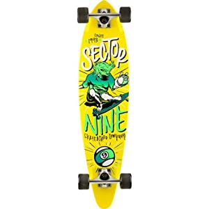 Sector 9 Skateboards The Swift Complete Cruiser Board Yellow, One Size
