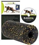 BLACKROLL - Das Original - schwarz/gelb  Massagerolle Selbstmassagerolle