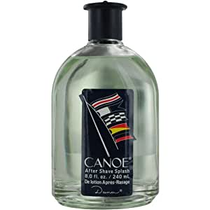 Canoe By Dana For Men. Aftershave 8-Ounce