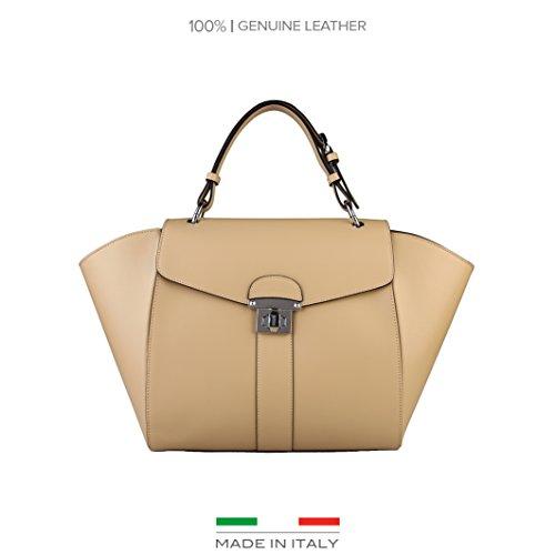 Made In Italia Rossella, Borsetta da polso donna beige Sabbia