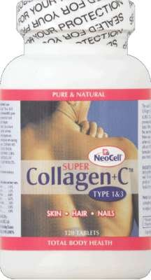 Neocell Super Collagen Plus C Type 1 And 3 - 6000 Mg - 120 Tablets