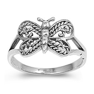 Sterling Silver Baby Ring for Child - Beautiful