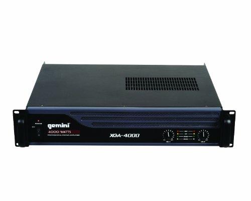 best gemini dj xga 4000 4000 watt power amplifier for sale cheap dj speakers for sale. Black Bedroom Furniture Sets. Home Design Ideas