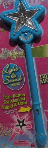 Star Light up Wand LED Flashing Light with Magical Sound - 1