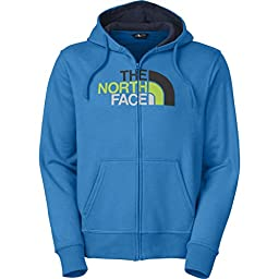 The North Face Men\'s Half Dome Full Zip Hoodie (Medium, Bomber Blue/Cosmic Blue)