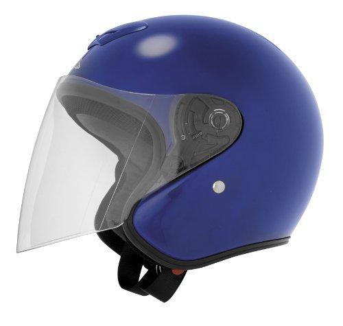 Cyber Helmets UT-21 Solid Helmet , Size: 2XL, Primary Color: Blue, Distinct Name: Blue, Helmet Category: Street, Helmet Type: Open-face Helmets, Gender: Mens/Unisex 647825