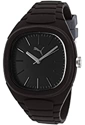 Men's Bubble Gum Black Rubber and Dial