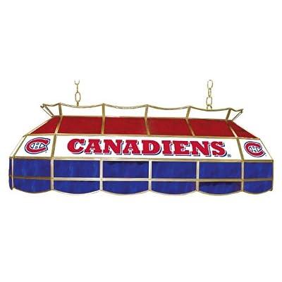 Trademark Gameroom NHL Montreal Canadiens Tiffany Gameroom Lamp, 40-Inch