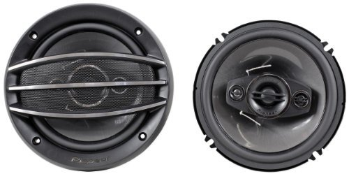 "Brand New Pioneer Ts-A1684R 6.5"" 700 Watt Peak / 80 Watt Rms 4-Way Car Stereo Speakers With Heat Resistant Voice Coil"