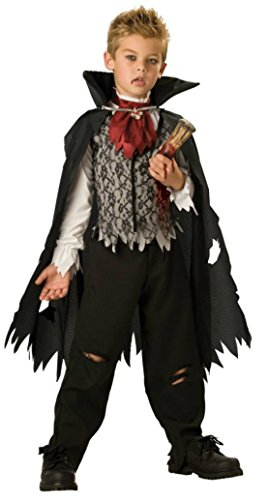 Boys Vampire B Slayed Kids Child Fancy Dress Party Halloween Costume