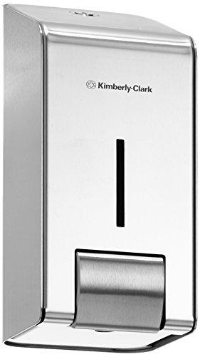 kimberly-clark-professional-8973-distributeur-de-savon-cartouche-acier-inoxydable-1-l-paquet-de-6