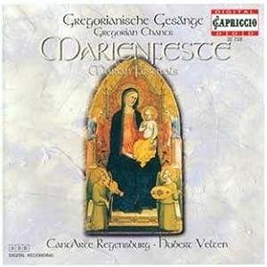 Gregorian Chants for Marian Festivals
