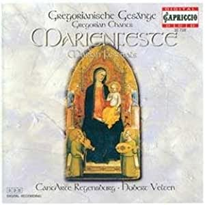 Gregorian Chants for Marian Festivals