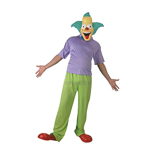 Fancy Dress - The Simpsons - Krusty Classic Costume ADULT STANDARD - Rubies