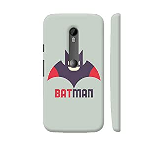 Colorpur Red Brown Batman Designer Mobile Phone Case Back Cover For Motorola Moto G Turbo Edition | Artist: Designer Chennai