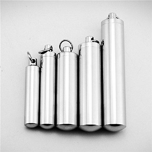 XJoel bottiglia originale disegno di titanio ciondolo in acciaio collana profumo unisex XXL