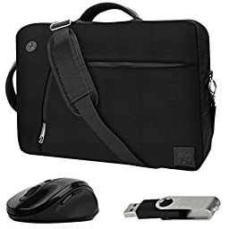 VanGoddy Black Slate 3-in-1 Hybrid Laptop Bag for RCA Cambio / Pro10 Edition II / 11 Maven Pro / 10 Viking Pro / 11\