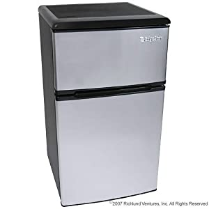 3.1 Cu. Ft. Fridge Freezer Stainless Steel - EdgeStar from EdgeStar