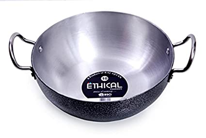 Ethical ET1302 Aluminium Kadhai (23 cm)