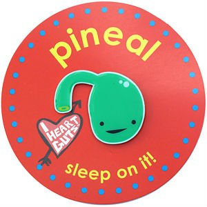 Pineal Gland Lapel Pin Sleep On It I Heart Guts