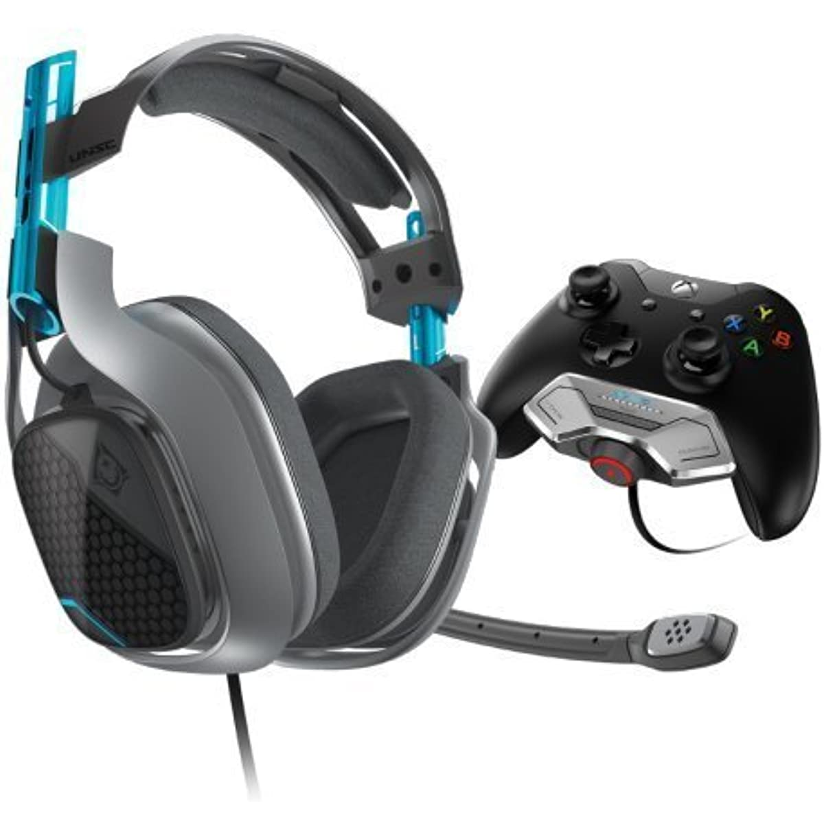 Astro Gaming Halo 5 Special Edition A40 Xbox One용 아스트로 게임 유선 서라운드 사운드 gaming 헤드 세트+ MixAmp M80 [병행수입품]-