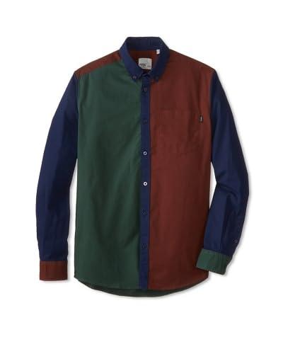 WeSC Men's Zimon Colorblock Shirt
