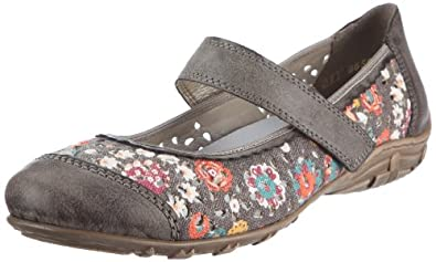 Women's Rieker, Dorina 76 Slip-on Mary Jane Shoe CIGAR 36 M