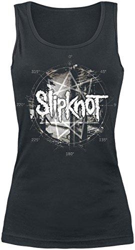 Slipknot Psychosocial Top donna nero M