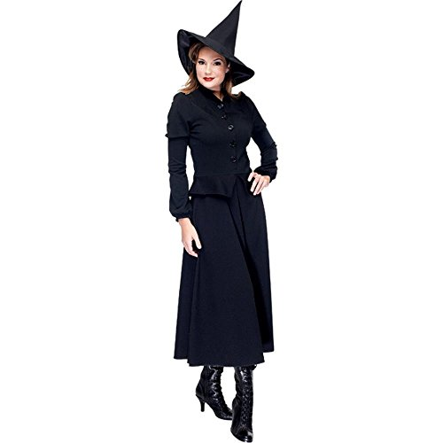 Womens Witchy Witch Costume (Size:Medium 8-10)